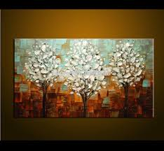Modern Painting For Living Room Aliexpresscom Buy Hand Painted Palette Knife Oil Painting Thick