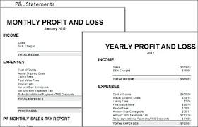 simple profit loss template simple profit and loss template excel simple profit loss spreadsheet