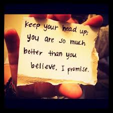 Keep Your Head Up Quotes Impressive Quotes About Head Up 48 Quotes