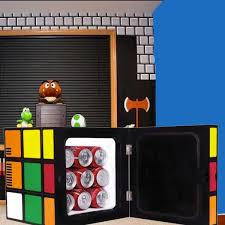 mini fridge for bedroom. rubik\u0027s cube mini fridge for bedroom