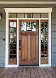wood front doorsBest 25 Front doors ideas on Pinterest  Farmhouse front doors