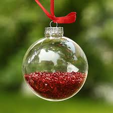 Glass Balls For Decoration Dia100cm Clear Glass Balls Christmas Ornaments Pendants with shiny 93