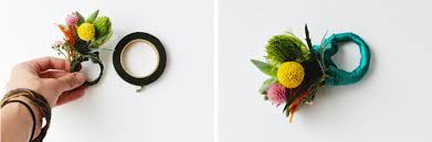 DIY Floral Napkin Rings Instruction Part 4