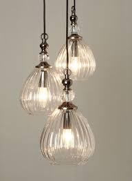bhs vintage mirielle 3 light cer vintage style ribbed light shades bhs minimalist