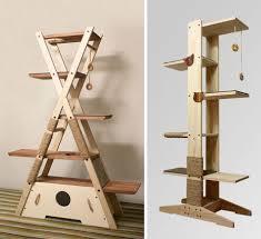 stylish cat furniture. Furniture Accessories Modern Cat Tree Shaped Pet Trees Stylish