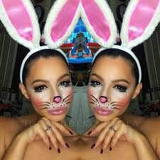 7 best easter images on bunny makeup and