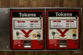 Vending Machines That Take Tokens Stunning FileSpadina TTC 48 Spadina Road Token Vending Machine 48