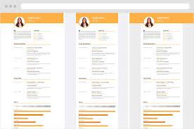 Calamar Free Online Resume Template Resume Republic