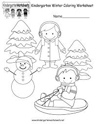 Winter Pictures For Kindergarten   allofpicts
