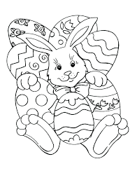 Coloring Pages Free Printable Easter Bunny Coloring Pages Bunny