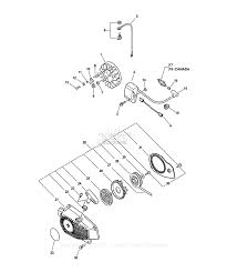 Echo cs 3450 type 1e parts diagram for ignition starter assembly