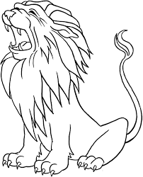 Happy Coloring Page Lion 63 #3003