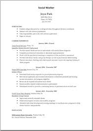 Child Care Resume Bullet Points Childcare Resume Joyce Park Resume