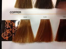 Loreal Inoa Copper Colour Chart In 2019 Hair Color