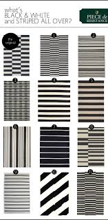 black  white striped rugs  the anatomy of design