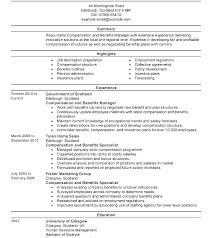 Job Change Cover Letter Human Resources Manager Sample Objective