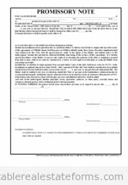 Promissory Note Template For Family Member Free Promissory Note Printable Real Estate Forms In 2019