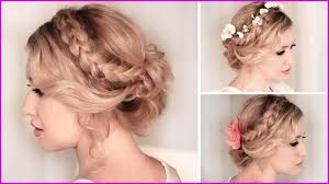 Coiffure Mariage Champetre Cheveux Mi Long 101520 Tuto