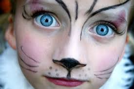 easy cat face painting simple yet dramatic cat face painting