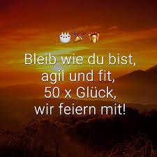 ᐅ Glückwünsche Zum 50 Geburtstag Beliebt Lustig Kreativ