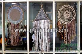 Giant Dream Catchers Inspiration Huge Large Giant Dream Catchers Green Daun