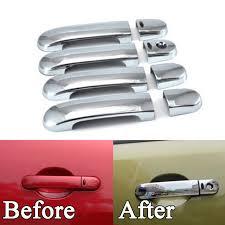 bbq a car styling for nissan versa tiida latio 07 11 chrome door handle