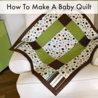 The Best Free Baby Quilt Patterns - So Sew Easy & Large block simple baby quilt Adamdwight.com