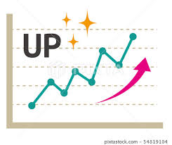 Stock Chart Up Icon Line Up Graph Line Graph Stock Chart Stock