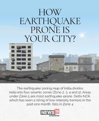 64km nw of jaipur, rajasthan, india, ncs tweeted. Seismic Zones In India How Earthquake Prone Is Your City Photogallery