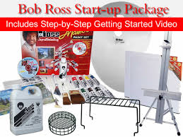 bob ross start up package