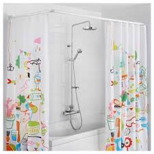 decorative shower curtains with white l shaped curtain
