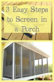 faster way to install porch screens porch screens and screened