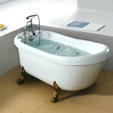 Clawfoot jacuzzi tub Oval Claw Foot Jetted Tubs Impressive Bathtubs Idea Awesome Small Whirlpool Tub Cast Iron Bathtubs For For Taxitelco Claw Foot Jetted Tubs Taxitelco