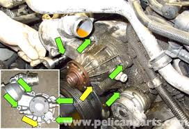 BMW E60 5 Series N62 8 Cylinder Coolant Pump Replacement   Pelican further  furthermore BMW E90 Drive Belt Replacement   E91  E92  E93   Pelican Parts DIY furthermore  besides BMW E60 5 Series Thermostat Replacement  N62 8 Cylinder    Pelican likewise  furthermore  furthermore  furthermore  likewise BMW E60 5 Series N62 8 Cylinder Coolant Pump Replacement   Pelican also . on bmw e series n cylinder coolant pump repment pelican intake manifold on engine pipe water valve cover seal 07 e63 serpentine belt diagram
