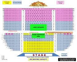 Thunder Valley Concert Seating Chart Seating Chart Uptown Theatre Napa