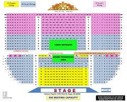 Graton Casino Seating Chart Seating Chart Uptown Theatre Napa