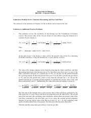 corporate finance study resources 9 pages homework solutions 1