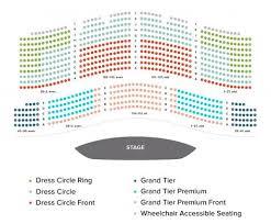 Act San Francisco Seating Chart San Francisco Ballet Seating Charts Throughout War Memorial