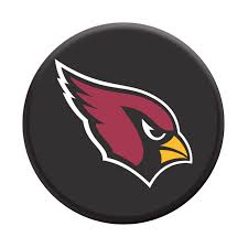 NFL Arizona Cardinals Cards Logo PopSockets Grip