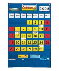 Pacon Calendar Weather Pocket Chart Office School Supplies 0020800 Pacon Calendar Weather