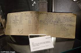 eyewitness also are two log books by enola captain robert lewis