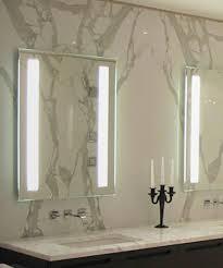 Hotel Bathroom Lighted Mirror Vertical Bathroom Led Mirror Modern Lighted Mirror With