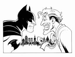 Batman Vs Joker Coloring Page Free Coloring Pages Batman Batman