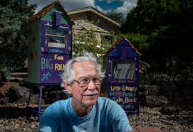 Used Newspaper Vending Machine Extraordinary Books In A Box Old Newspaper Vending Machines Create Little Free