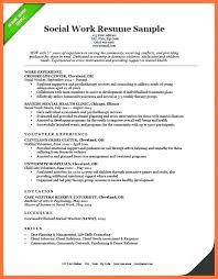 Social Worker Resume Awesome School Social Worker Resume Sample