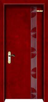 beautiful veneer hollow core wooden door design image