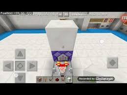 how to make a sliding glass door w sound fx in minecraft pe
