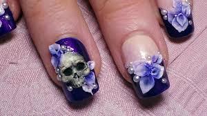 50+ Easy Flower Nail Art and Designs | Golfian.com