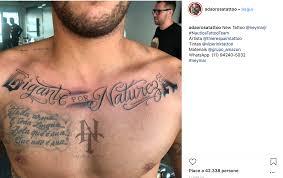 Neymar Il Nuovo Tatuaggio è Unode A Sé Stesso Ecco Lultimo