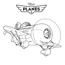 Kleurplaten Cars And Planes